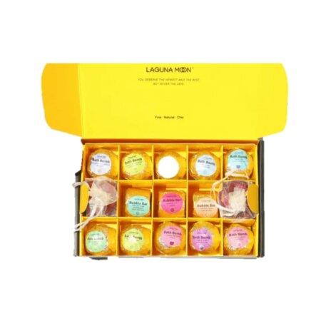 luxury bath bomb gift set