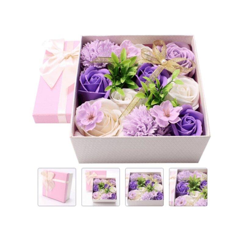 premium eternal soap bouquet box in purple sky (2)