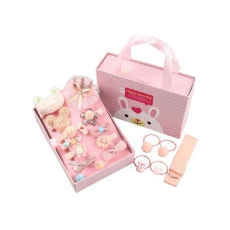 princess hair accessories in peach