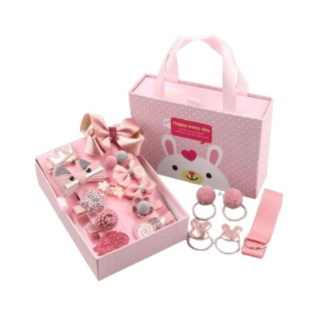 princess hair accessories in pink