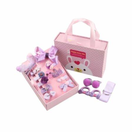 princess hair accessories in purple