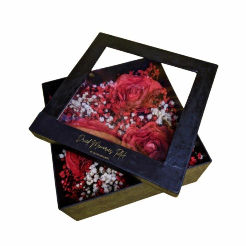 Dried Flower Gift Box